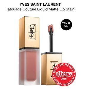 YSL Tatouage Liquid Lip Stain